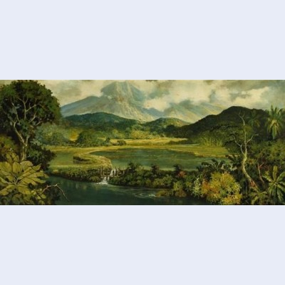 Indonesian landscape