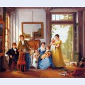 Hendrik weymans and his family
