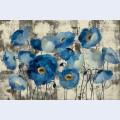 Aquamarine floral 1