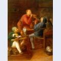 The smokers or the peasants of moerdijk