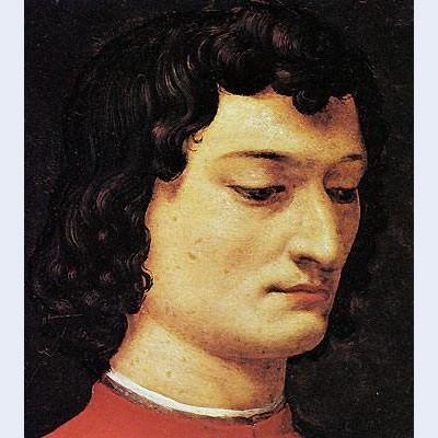 A portrait of giuliano di piero de medici