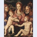 Holy family with st anne and the infant st john the baptist