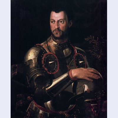Portrait of cosimo i de medici