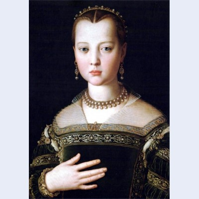 Portrait of maria de medici