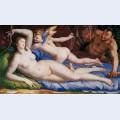 Venus cupido and satyr