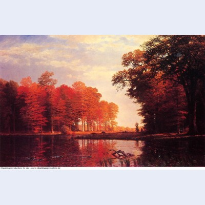 Autumn woods 1886