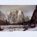 Cathedral rock yosemite valley california 1872