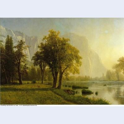 El capitan yosemite valley 1875
