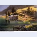 Fishing and hunting camp loring alaska 1889
