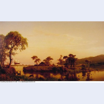 Gosnold at cuttyhunk 1858