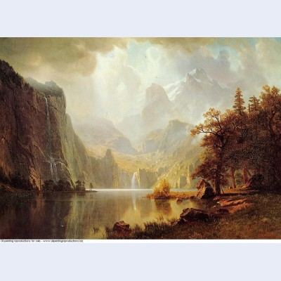 In the mountains 1867
