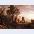 Indian encampment late afternoon 1862