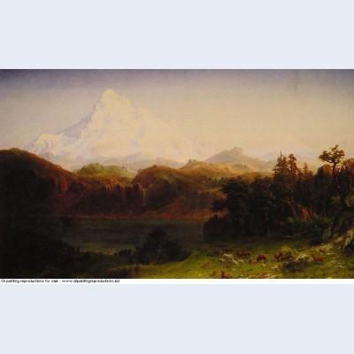 Mount hood oregon 1865
