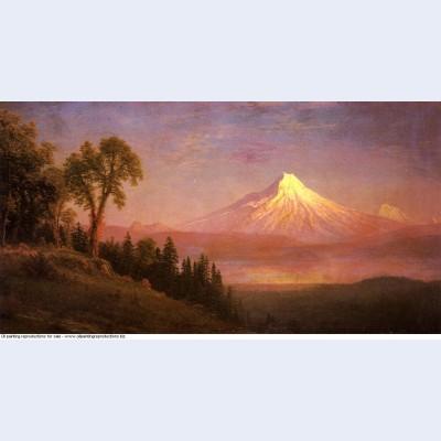 Mount st helens columbia river oregon