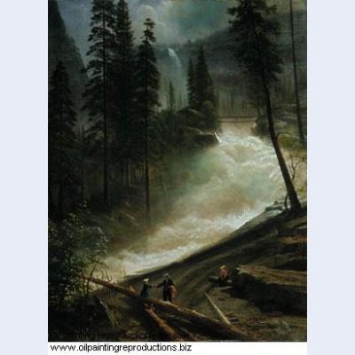 Nevada falls yosemite 1872