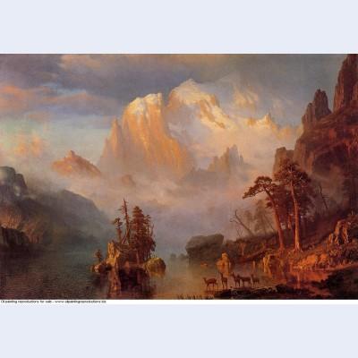 Rocky mountains 1866