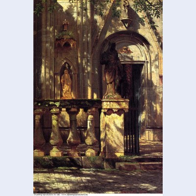 Sunlight and shadow study 1855