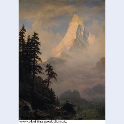 Sunrise on the matterhorn 1875