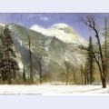 Winter in yosemite valley 1872