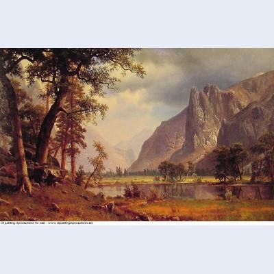 Yosemite valley 1866