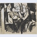 Two women seated by a window