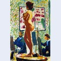 Life class at the cole des beaux arts fauvist nude
