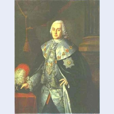 Portrait of general in chief count william w fermor