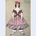 Ballerina costume design for tamara karsavina