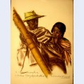 Dessins et peintures d afrique execut s au cours de l exp dition citro n centre afrique