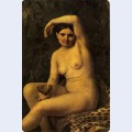 Bather with a bowl