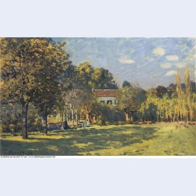 A park in louveciennes 1874