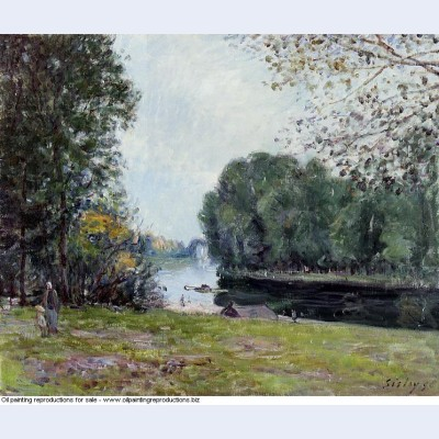 A turn of the river loing summer 1896