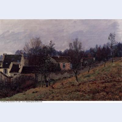 Autumn in louveciennes 1873