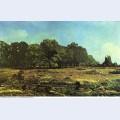 Avenue of chestnut trees near la celle saint cloud 1865