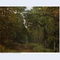 Avenue of chestnut trees near la celle saint cloud 1867