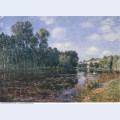 Bend in the river loing in summer 1880