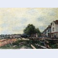 Construction site at saint mammes 1880