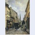 Main street in argenteuil 1872