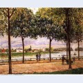 Promenade of chestnut trees 1878