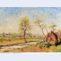 Road at veneux 1886