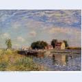 Saint mammes ducks on canal 1885