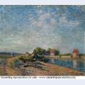 Saint mammes loing canal 1885