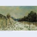 Snow at marly le roi 1875