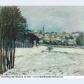 Snow at marly le roi 1876
