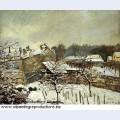 Snow effect at louveciennes 1876