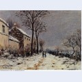 Snow effect at veneux 1884