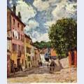Street in moret sur loing 1892