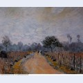 The road from prunay to bougival 1874