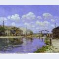 The saint martin canal 1872