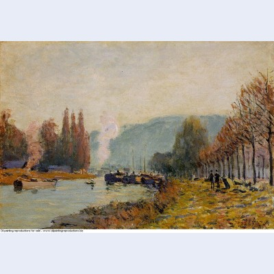 The seine at bougival 1873 1